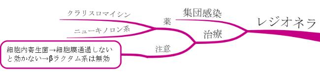 レジオネラ 図 マインドマップ